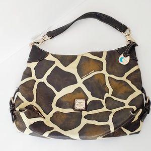 Dooney & Bourke Giraffe Print Shoulder Bag